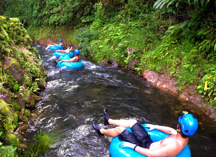 Float Down This Natural Lazy River in the Hawaiian Rainforest