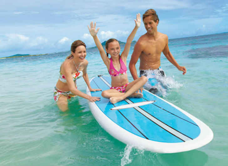 Surf Vacation Spots the Whole Family Will Love