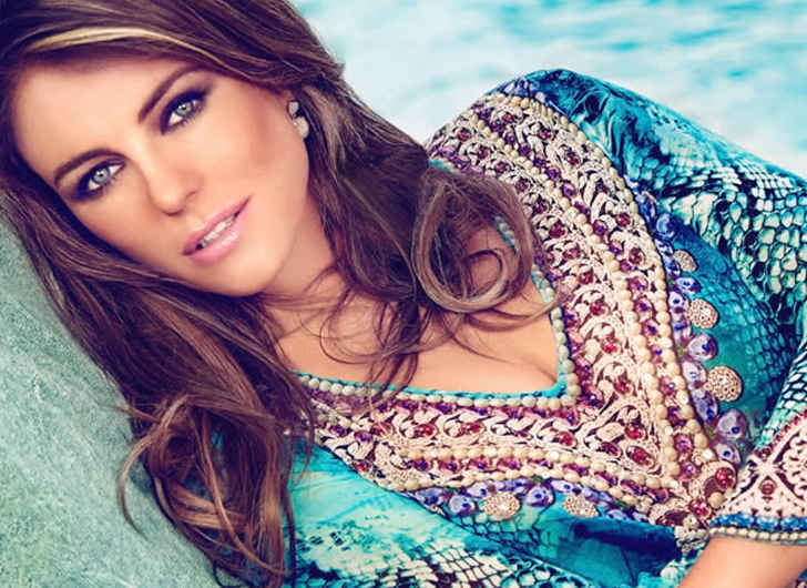 Elizabeth Hurley Proves Age is No Barrier on Indian Vacation