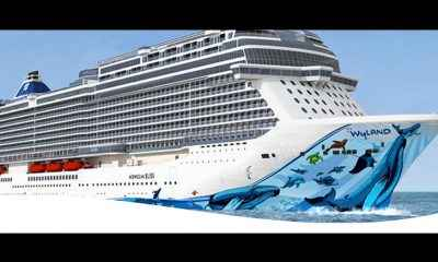 New Cruise Ship Will Offer Top Deck Go-Kart Race Track & Laser Tag!