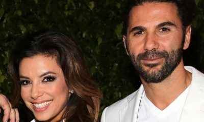 Eva Longoria Jets to Greece for Another Vacation