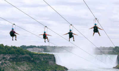 Visiting Niagara Falls?  Check Out the Thrilling Zip Line Experience