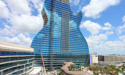 Hard Rock Unveils Giant Guitar-Shaped Hotel