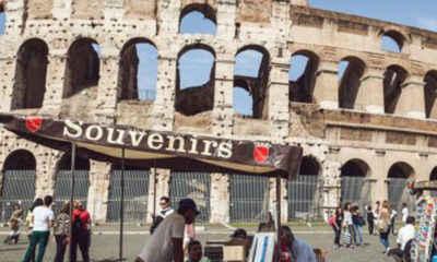 Rome Banning Souvenir Stalls