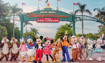 Coronavirus Forces Closure of Hong Kong's Disneyland