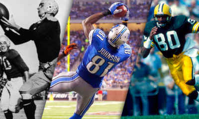 30 Greatest Wide Receivers Ever – Ranked