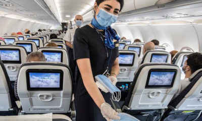 CDC Says Blocking Middle Seats Helps Reduce COVID Exposure on Planes
