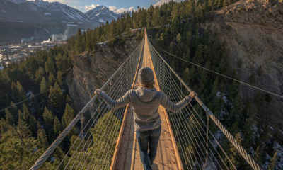 Canada's New Suspension Bridge is Not For the Faint of Heart